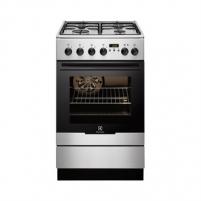Viryklė Electrolux EKK 54552OX Freestanding cooker/Gas hob/Electric Oven 56L/A-10% Viryklės