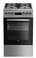 Viryklė Gas electric-cooker Beko FSE52320DXD | 50cm