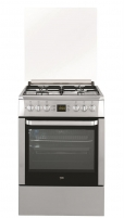 Viryklė Gas electric-cooker Beko FSE62321DX