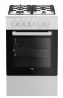 Viryklė Gas electric-cooker Beko FSS52020DW | 50 cm Viryklės
