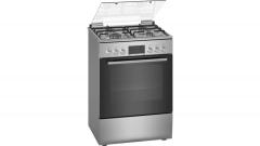 Viryklė Gas-electric cooker Bosch HXN390D50L Viryklės