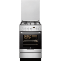 Viryklė Gas-electric cooker Electrolux EKK54550OX | 50cm