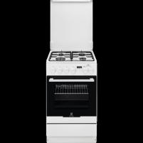 Viryklė Gas-electric cooker Electrolux EKK54953OW Viryklės