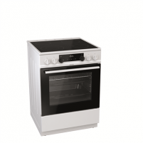 Viryklė Gorenje Cooker EC6351WC Hob type Vitroceramic, Oven type Electric, White, Width 60 cm, Electronic ignition, Grilling, LED, 65 L, Depth 60 cm Viryklės
