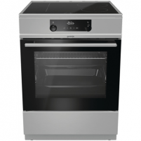 Viryklė Gorenje Cooker MEKI610I Hob type Induction, Oven type Electric, Stainless steel, Width 60 cm, Electronic ignition, Grilling, 71 L, Depth 60 cm Viryklės