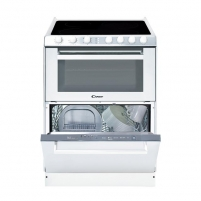 Oven su indaplove Electric cooker with dishwasher Candy TRIO9503/1W
