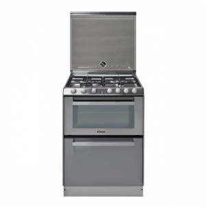 Viryklė su indaplove Gas-electric cooker with dishwasher Candy TRIO9501/1X Viryklės