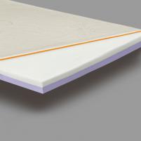 Viscoelastic antimattress '3+3' - 200x200x6 cm