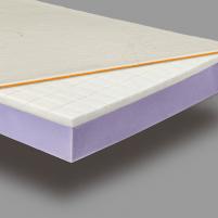 Viscoelastic Mattress SVEIKUOLIS - kietas (20cm height) - 100x200x20 cm Mattresses