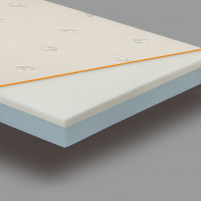 Viscoelastic mattress vaikams - 70x140x10 cm
