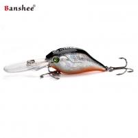 Vobleris Banshee Crankbait 50mm 10g VC07 Grizzle Shad, Plūdrus Mākslīgo zivju atraktanti