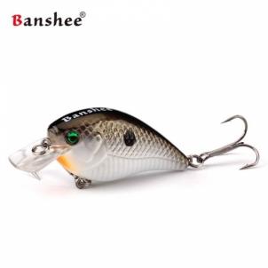 Vobleris Banshee Crankbait 60mm 12g VC03 Kaki Shad, Plūdrus Mākslīgo zivju atraktanti