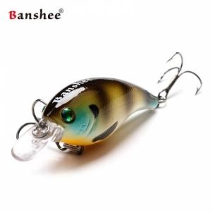 Vobleris Banshee Crankbait Bass 60mm 10g VC01 Murky Perch, Plūdrus Mākslīgo zivju atraktanti
