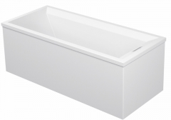 Bathtub 2nd floor 1800x800mm white,with support