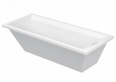 Bathtub 2nd floor 1800x800mm white,built-in vers