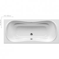 Vonia Campanula II 170X75 ,180X80cm В ванной комнате