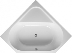 Bathtub D-Code 1400x1400mm white,corner, with 2