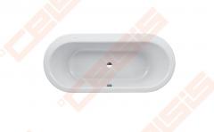 Vonia LAUFEN Solutions 180x80 cm, ovali įleidžiama