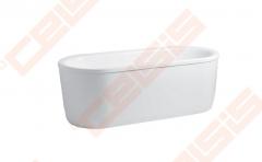 Vonia LAUFEN Solutions 180x80 cm, ovali laisvai statuma su rėmu Vannas istabā