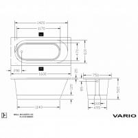 Vonia PAA Vario 150-160x75x56,5