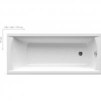 Vonia Ravak Classic 120/150/160/170X70cm