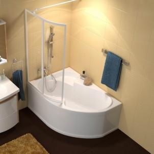Vonia RAVAK ROSA 160x105 L In the bathroom