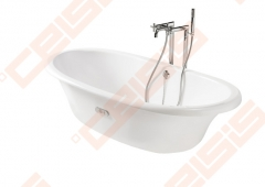 Vonia ROCA Newcast 170x85 cm, balta In the bathroom