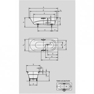 Vonia Vaio 170X80X43cm