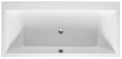 Bathtub Vero 1900x900mm white,built-in, with 2 s