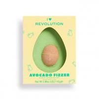 Vonios bomba Revolution Tasty Avocado (Fizzer) 110 g Vannas sāli, eļļu