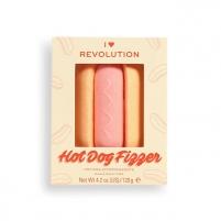 Vonios bomba Revolution Tasty Hotdog (Fizzer) 120 g Vannas sāli, eļļu