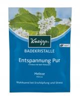 Vonios druska Kneipp Mineral Pure Relaxation 60g Melissa Vannas sāli, eļļu