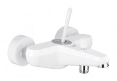Vonios/dušo maišytuvas Eurodisc Joystick, baltas