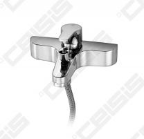 Vonios/dušo maišytuvas GUSTAVSBERG Nautic, chromuotas