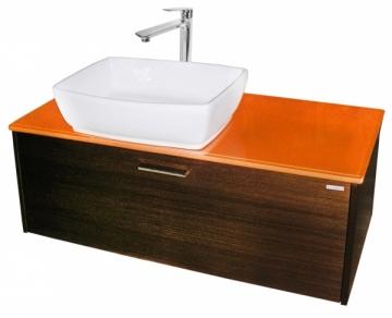 bathroom room spintelė with wash basin F0005975