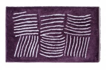 Vonios kilimėlis Ethna 60x100cm, plum