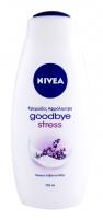 Vonios putos Nivea Goodbye Stress 750ml Vannas sāli, eļļu