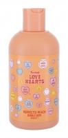 Vonios putos Swizzels Love Hearts Perfectly Peach 400ml Bath salt, oils