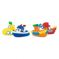 Vonios žaislai Soft Bath Boat Floaties 2Pack For bathing a baby