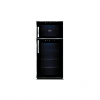 Wine refrigerator Caso Wine Duett Touch 21, For 21 bottles, Sensor touch control, Black case colour Refrigerators and freezers