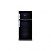 Vyno šaldytuvas Caso Wine Duett Touch 21, 21 buteliui, sensorinis valdymas, juodas Šaldytuvai ir šaldikliai