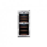 Wine refrigerator Caso WineMaster 24, For 24 bottles, Manual control, Black case colour