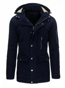 Vyriška striukė Kamali (tamsiai mėlynos spalvos) Vyriškos striukės/paltai
