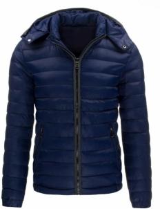 Vyriška striukė Navid (tamsiai mėlynos spalvos) Vyriškos striukės/paltai