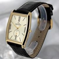 Vyriškas laikrodis BISSET Slim Palu BS25C35 MG GD BK