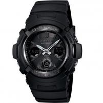 Male laikrodis Casio G-Shock AWG-M100B-1AER