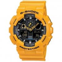 Vyriškas laikrodis Casio G-shock GA-100A-9AER Vyriški laikrodžiai