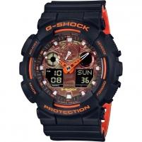 Vīriešu pulkstenis Casio G-Shock GA-100BR-1AER