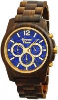 Vīriešu pulkstenis Green Time Stone ZW084B