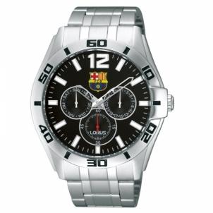 Vīriešu pulkstenis LORUS RP629BX-9 su FC Barcelona simbolika